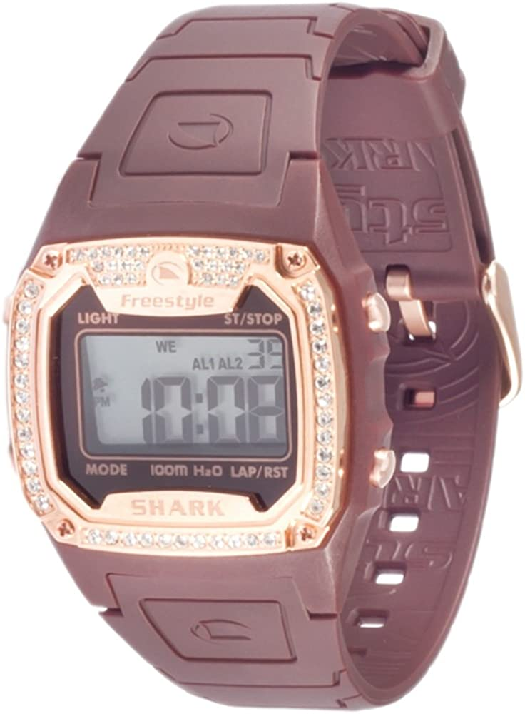Freestyle Women's 101080 Shark Classic Rectangle Shark Digital Watch