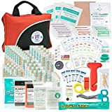 Always Prepared 126 Piece Small First Aid Kit – Ultra Light Home First Aid Kit & Car First Aid Emergency Kit – Wilderness First Aid Kit for Camping, Hiking, Travel & Roadtrips – Gifts for New Car