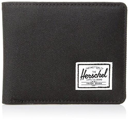 Herschel Supply Co. Men's Hank Wallet + Coin, Black, One Size