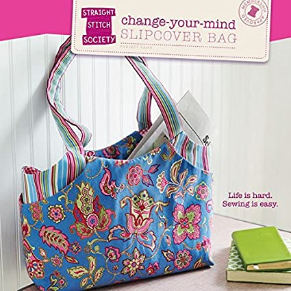 Amazon.com: Change Your Mind Slipcover Bag Sewing Pattern: Liesl ...