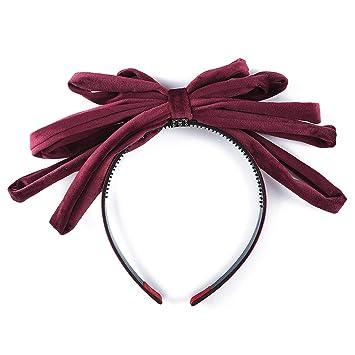 Big Bows Cotton Headbands Hair Accessories For Girls Velvet Head-wear Ribbon New