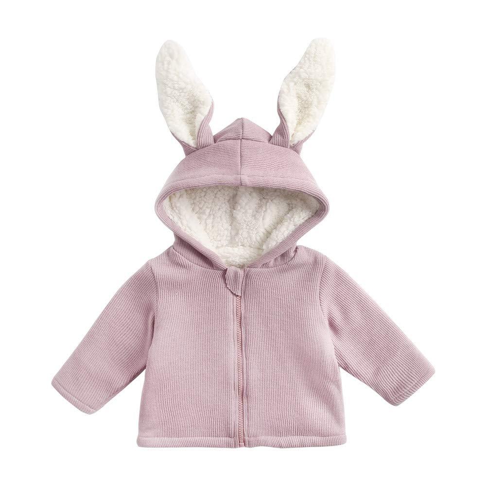 90e5b8e4e Amazon.com  Hatop Toddler Baby Boys Girls Cartoon Rabbit Ear Solid ...