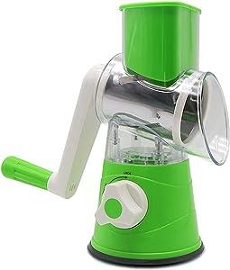 Food Slicer, Food Processor Slicer Spiralizer Vegetable Slicer, Onion Slicer Mincer Chopper, Vegetable Chopper, Cutter Fruit, Home Kitchen Tools for Vegetables, Meat and Fruit
