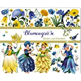 Stickerbuch - Blumengrüße - Edition Barbara Behr: Sticker und Etiketten