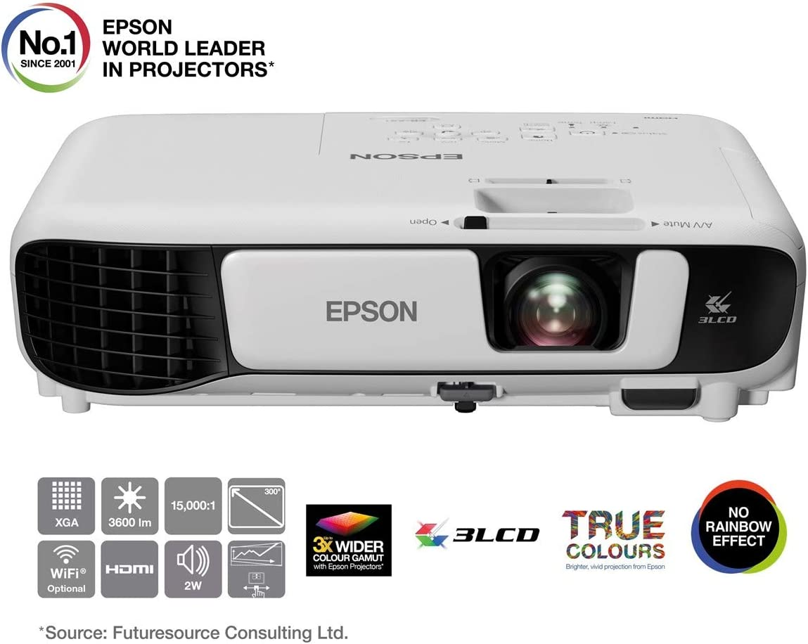 Epson EB-X41 Proyector x GA, Color Blanco: Epson: Amazon.es ...