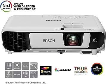 Epson EB-X41 Video - Proyector (3600 lúmenes ANSI, 3LCD, XGA ...
