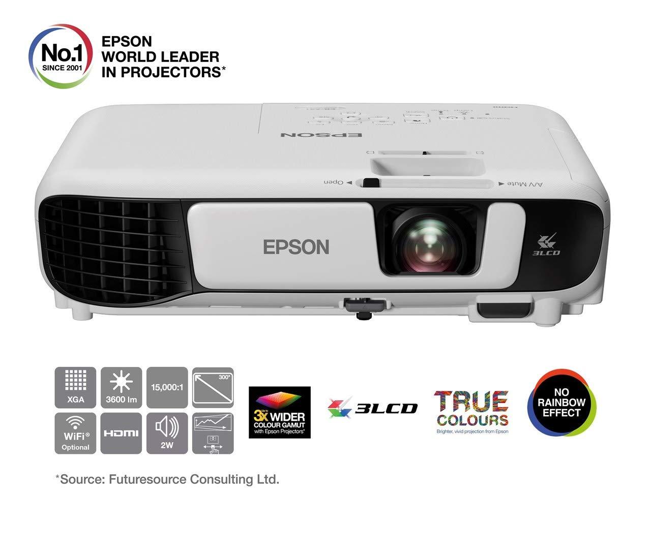 Epson EB-X41 Proyector x GA, Color Blanco