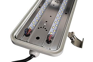 Plafoniere Neon Industriali Prezzi : Plafoniera led solar bes cm struttura industriale neon w