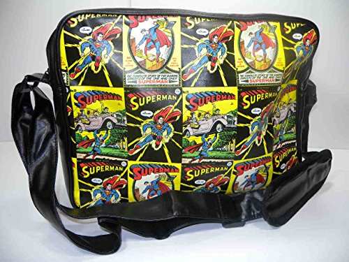 Superman - Shoulder Bag Retro Comic (in One Size)