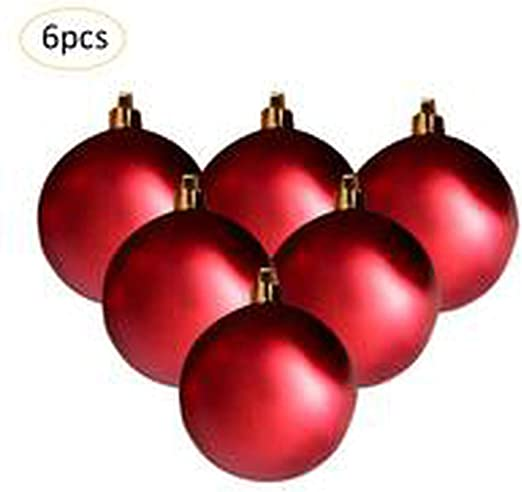 Christmas Tree Decorations 60pc White Baubles