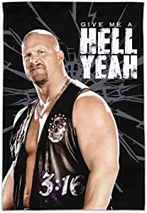 GRAPHICS & MORE WWE Stone Cold Steve Austin Hell Yeah Garden Yard Flag