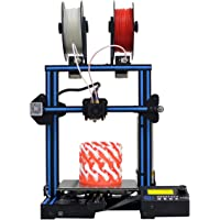 GIANTARM-GEEETECH A10M 3D Printer with Mix-Color Printing, Dual extruder Design, Filament Detector and Break-resuming Function, Prusa I3 Quick Assembly DIY kit.