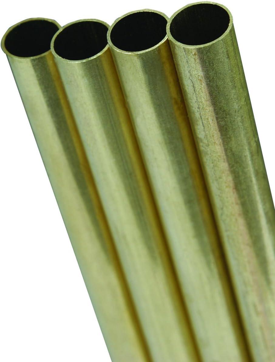 K/&S Metal Round Tube 3//32 D X 36 L Brass