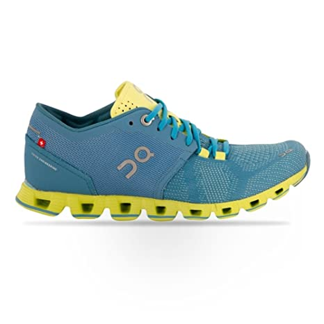 On Running Zapatillas Mujer Cloud X Niagara Lime  Amazon.es ... 33633cdfb026e