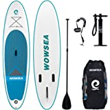 WOWSEA Tabla Inflatable Paddle para Surf, Paddle Board Hinchable con Tamaño de 320 * 81 *…