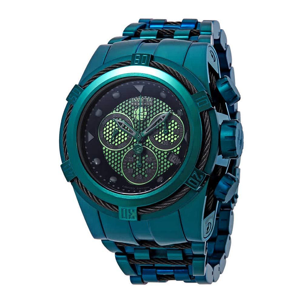 53mm Watch26013 Quartz Reserve Edition Marvel Chronograph Hulk Ltd Bracelet Bolt Swiss Zeus Invicta Men's 3R5LjA4q