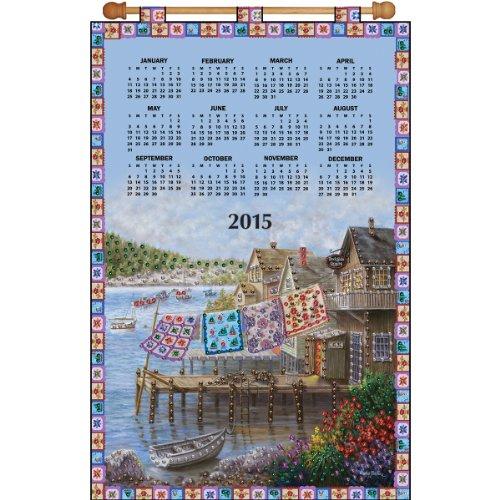 Tobin Dockside Quilts 2015 Calendar Felt Applique Kit, 16 by 24-Inch (The Art Of The Quilt 2015 Calendar)