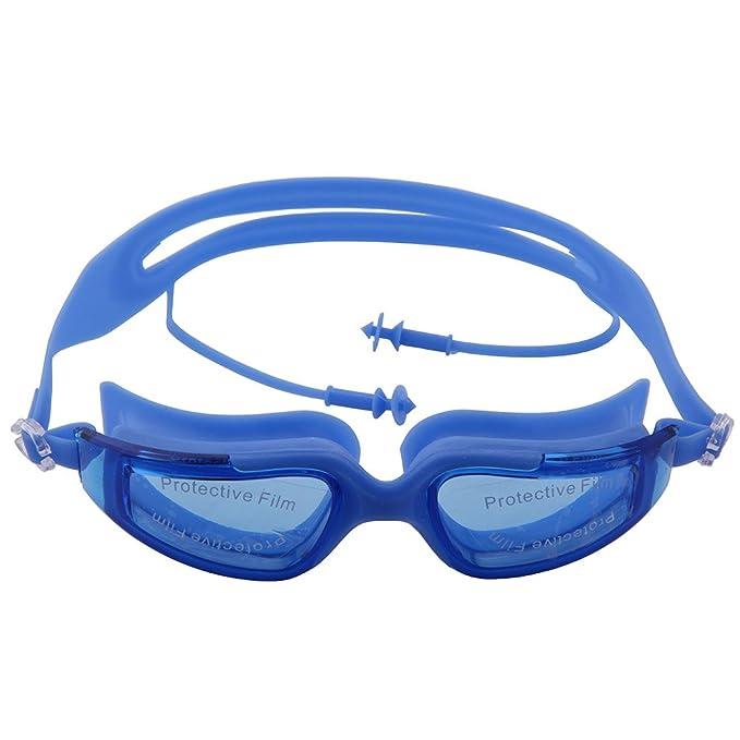 OGOBVCK Gafas de natacion con lentes de espejo 34e6a97f42a6