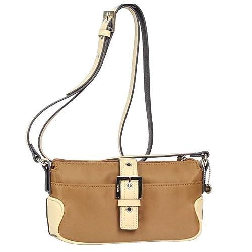 329d57aaab Esprit Petit sac toile bandoulière porté épaule R15019 (Marron): Amazon.fr:  Chaussures et Sacs