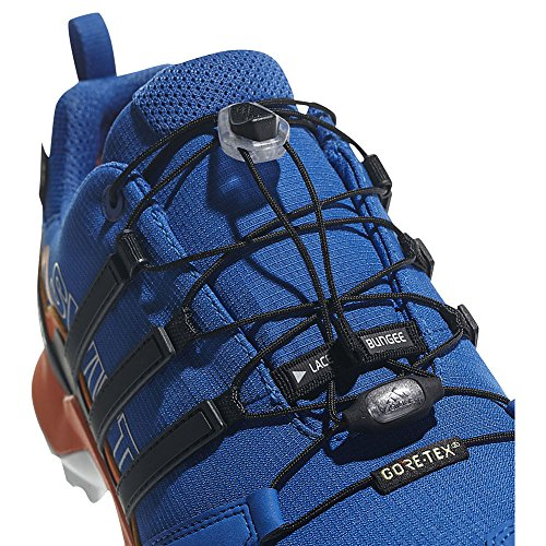 Scarpa Adidas Outdoor Mens Terrex Swift R2 Gtx (8.5 - Nero / Nero / Nero)