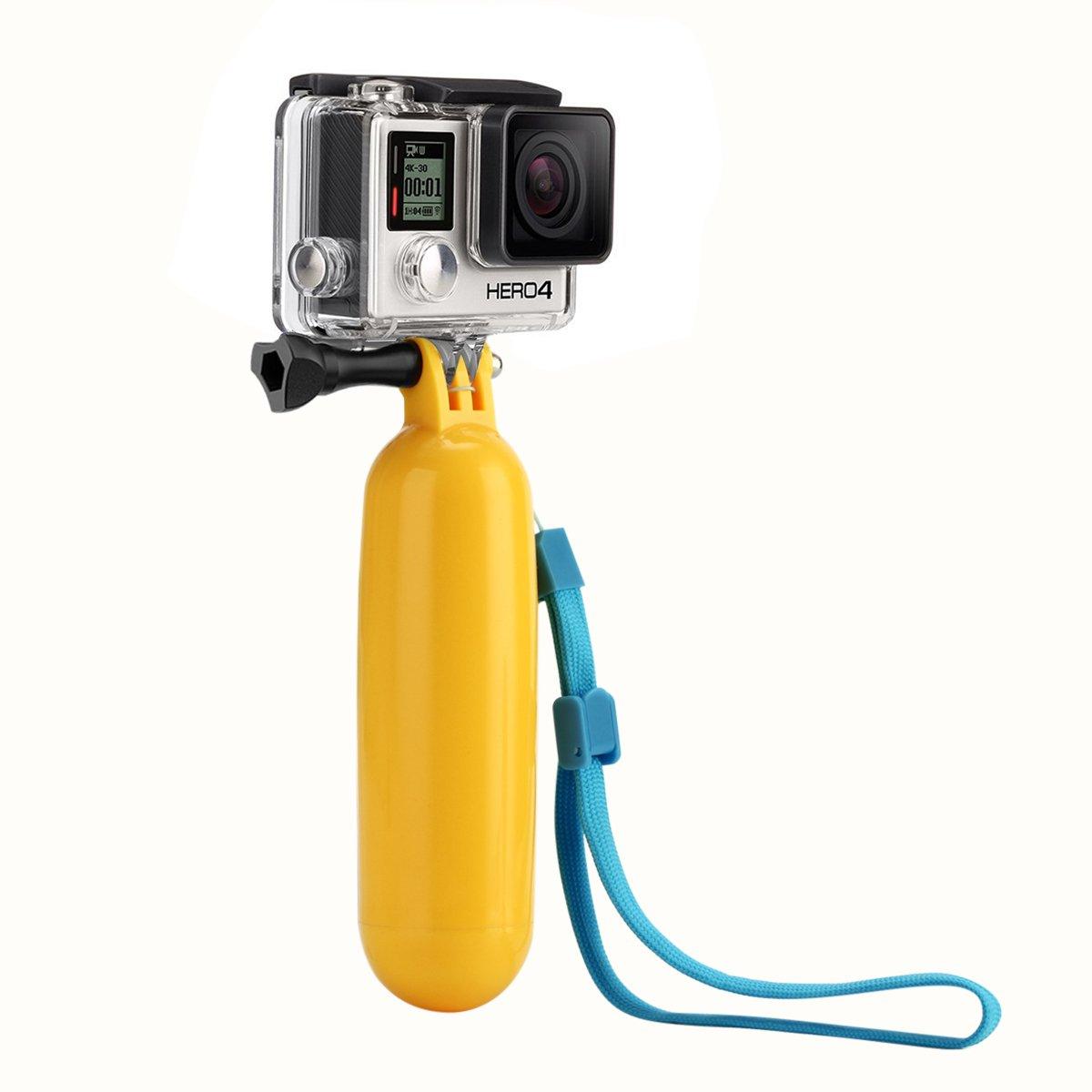 Sametop Flotante Palo Flotador de Mano Grip Handler para GoPro Hero 5, 4, Session, 3+, 3, 2, 1 Cámaras: Amazon.es: Electrónica