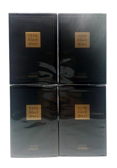 Amazon 4 X Avon Little Black Dress Eau De Parfum 50ml 17fl