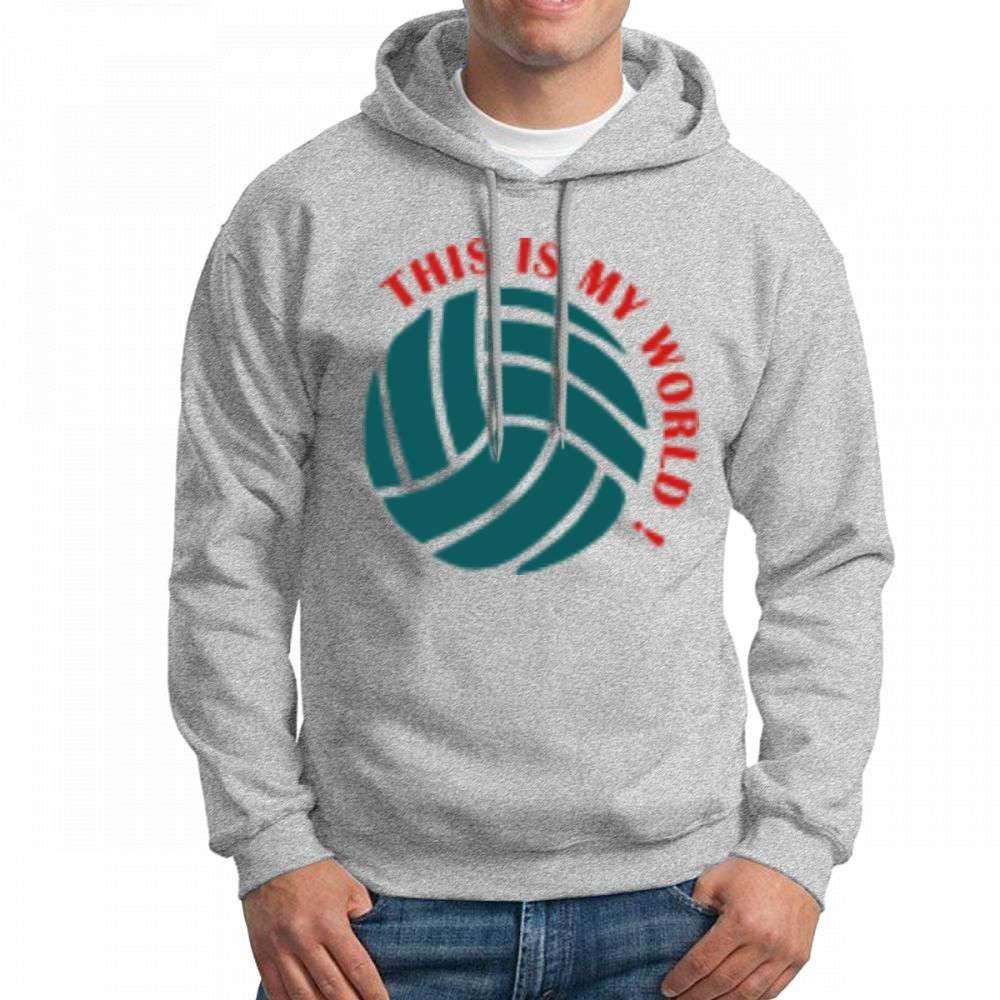 Myworld Long Sleeve for Men Custom Hoodies Sweatshirt
