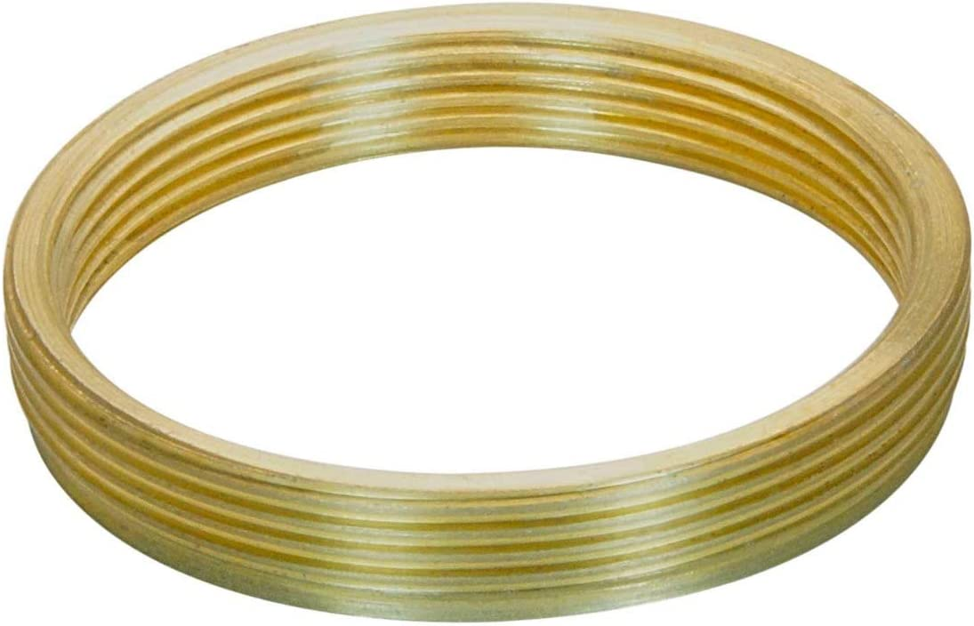 flangeless Bronze M28x0.75 Male to M25x0.75 Female Thread Adapter