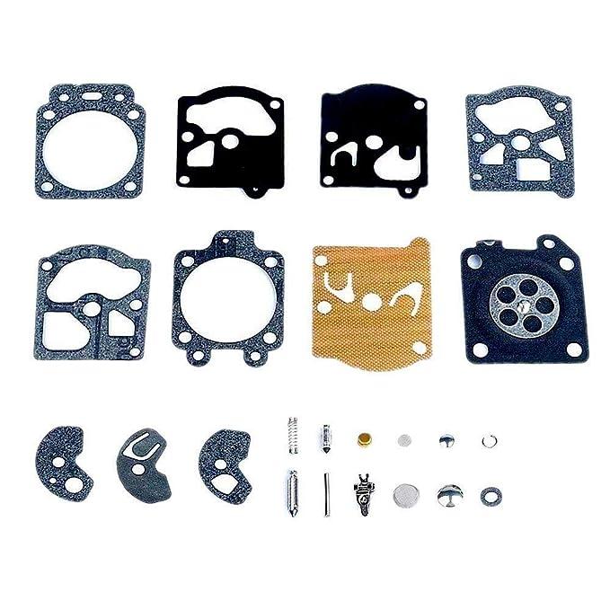 Poweka Kit de Reparación del Carburador Junta Membrana para Walbro ...