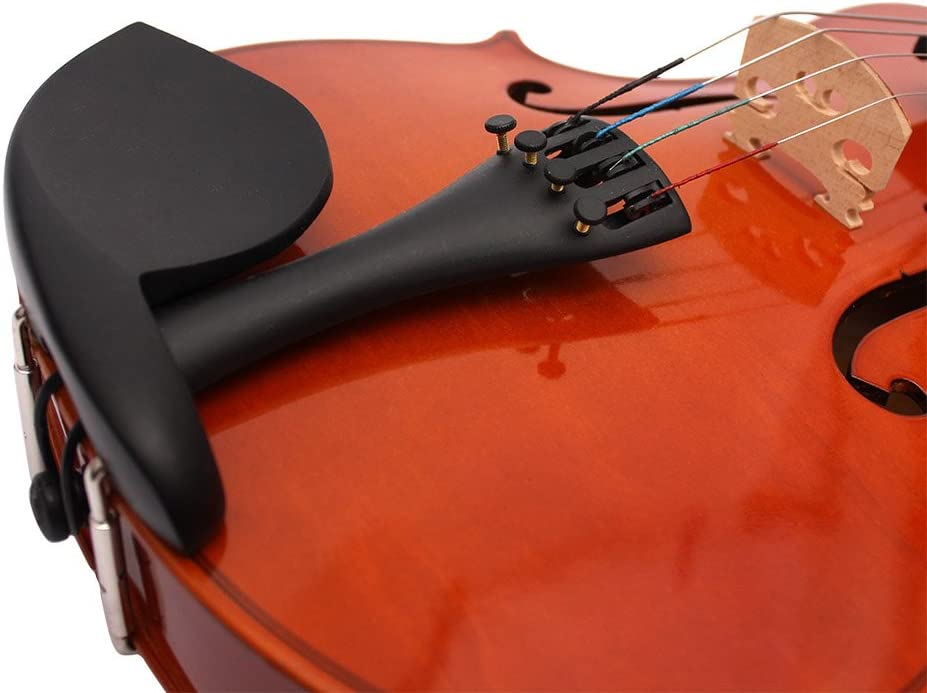 ammoon 4/4 Full Size Solid Maple Viola of 16 Inch with Case Bow ...