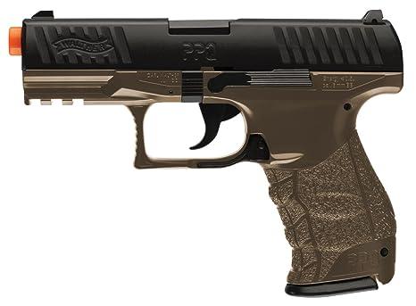 amazon com walther ppq 6mm airsoft pistol spring dark earth