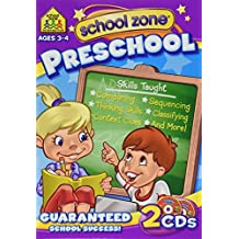 School Zone Publishing SZP08161 Preschool On-Track Software Same Or- Different And Thinking Skills