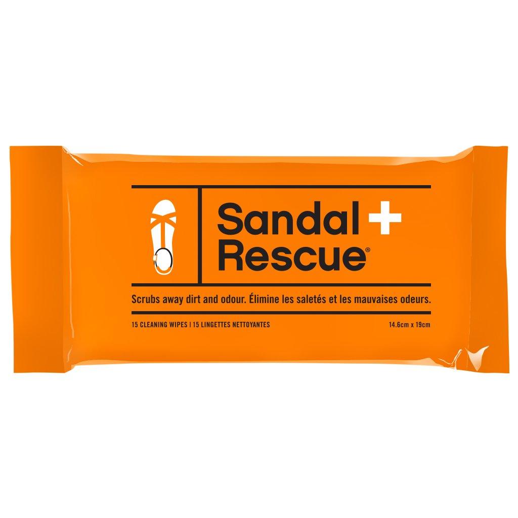 SandalRescue Toallitas limpiadoras de sandalias totalmente n