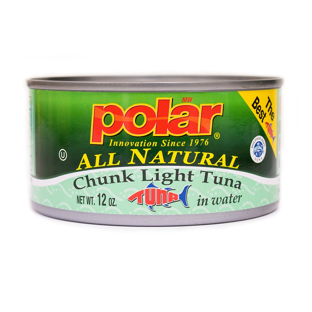 MW Polar Tuna, All Natural Chunk Light Tuna, 12-Ounce