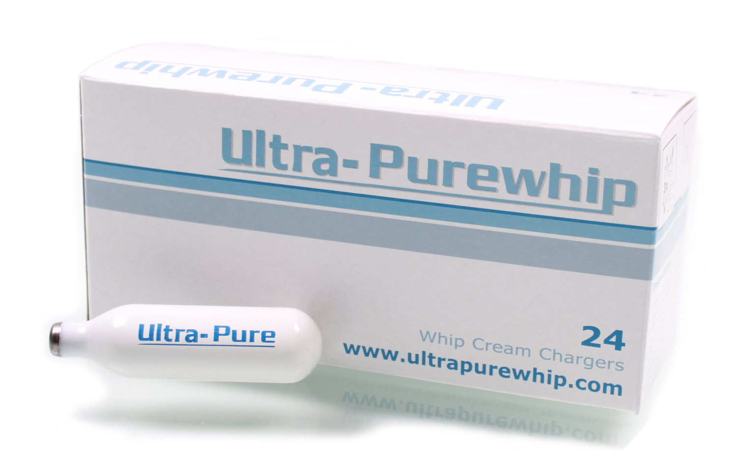 Creamright Ultra-Pure Whip Cream Chargers, Case of 120 Creamright Products WCC-MN-PW-UL-120