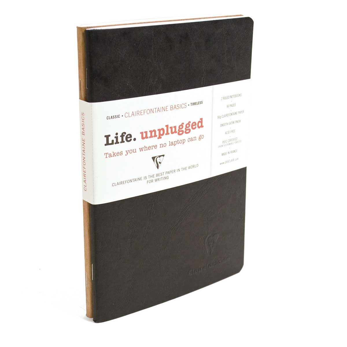 Clairefontaine Sb Duo Black/Tan 5.75X8.25
