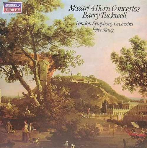 - Mozart 4 Horn Concertos (Vinyl, LP) Barry Tuckwell