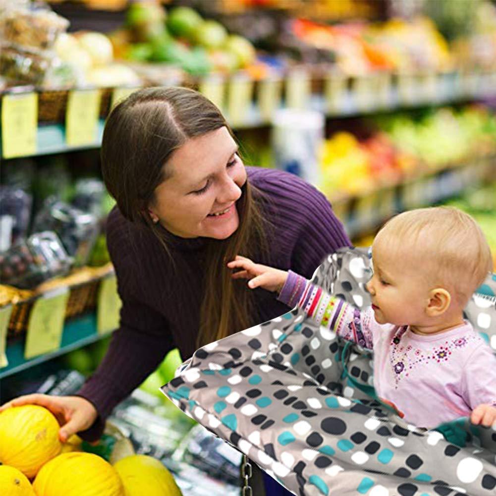 Baby Cart Cover 2-in-1/Carrello Sedile Copertura della Sedia Alta Full Imbracatura di Sicurezza per Il Bambino Ragazzo Ragazza Ainstsk Carrello Covers for Baby