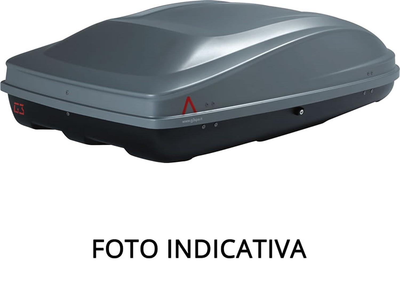 G3 g322175 Box da Tetto Arjes 480, 390 Litri, Nero Metallizzato G3 spa