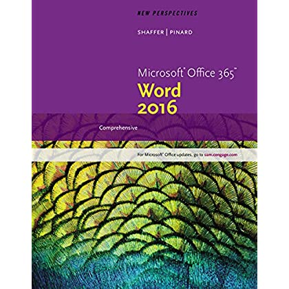 New Perspectives Microsoft Office 365 Word 2016 Comprehensive Loose Leaf Version