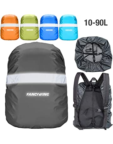 FANCYWING Waterproof Backpack Rain Cover with Reflective Strap, Upgraded  10-90L Non-Slip 933c3c48b1