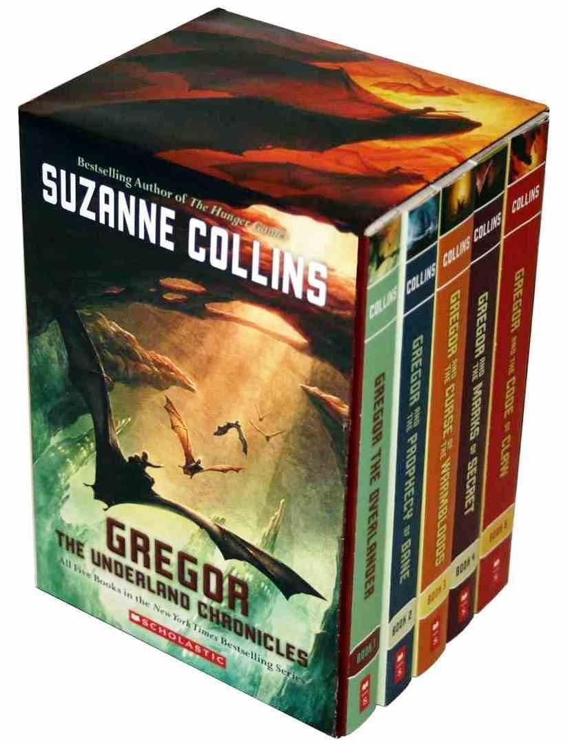gregor-the-underland-chronicles-5-volume-set