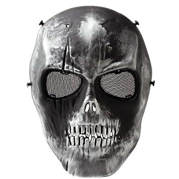 OMO, alta resistencia calavera BB pistola de la cara llena máscara de CS juego de