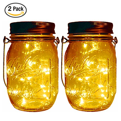 outdoor mason jar lights - 7