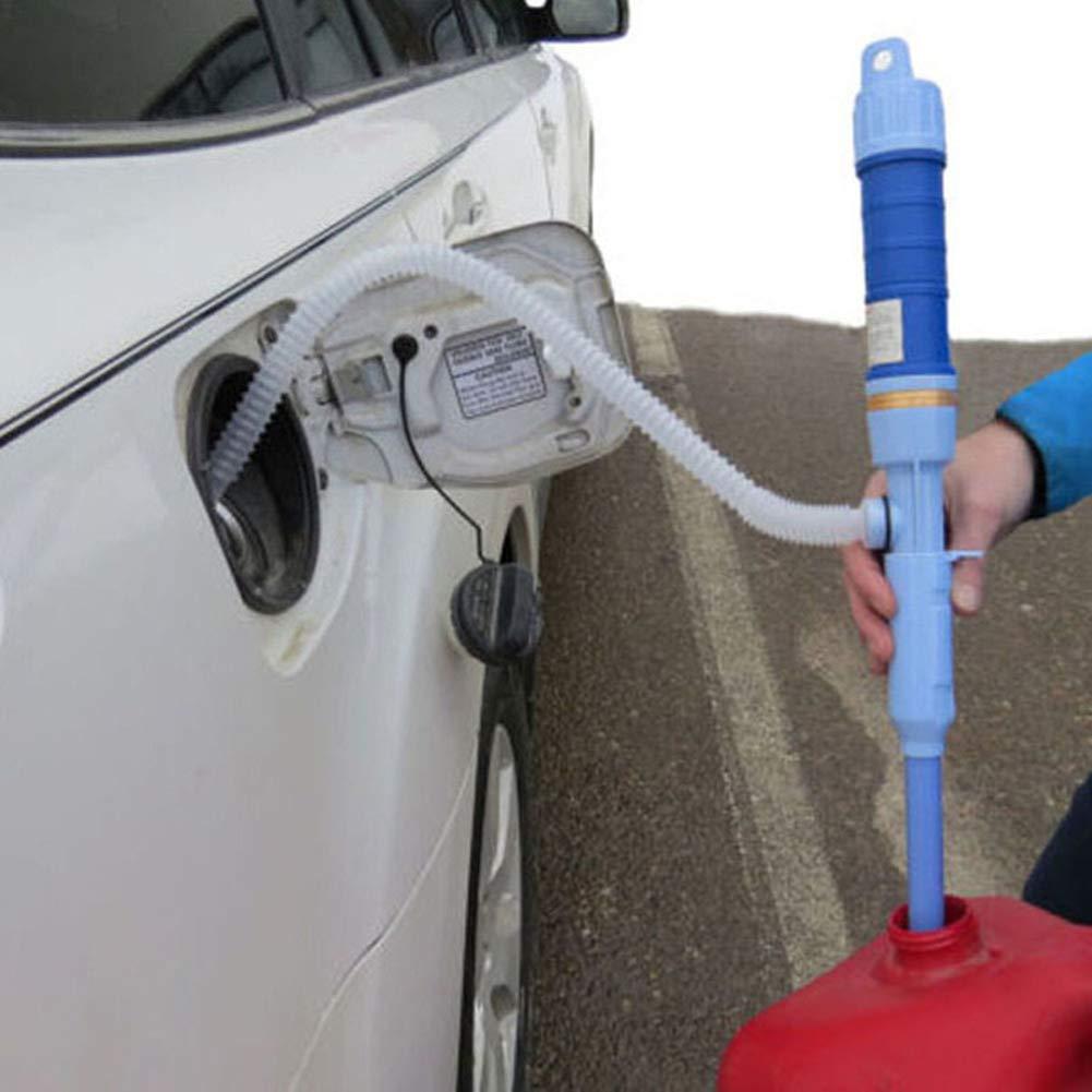 Blau Fish Tank Wasser /Öl Romote 1PC Batteriebetriebene Fl/üssigkeitspumpe Tragbare Syphon-Pumpe Mit Bendable Absaugschlauch F/ür Kraftstoff Gas