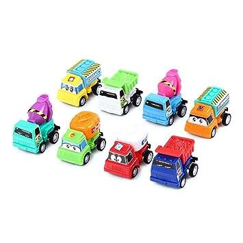 Amazon Com Toymytoy 8pcs Mini Car Models Pull Back Combination