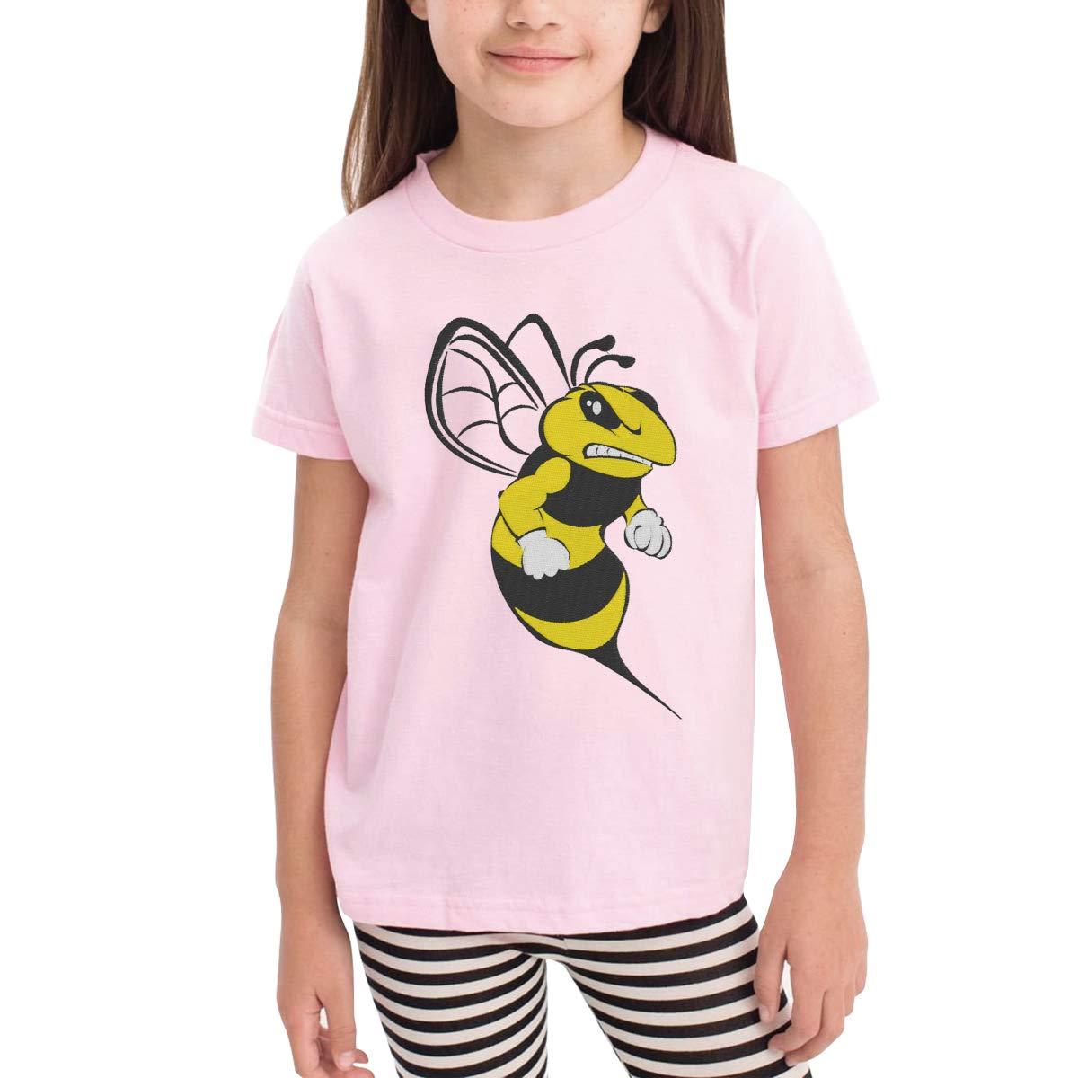Onlybabycare Cart Cartoon Bumble Bee 100/% Cotton Toddler Baby Boys Girls Kids Short Sleeve T Shirt Top Tee Clothes 2-6 T