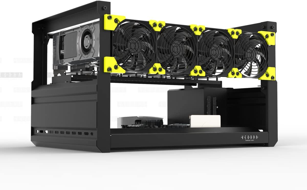 designed for altcoins /& space efficiency power up! 6GPU RTX 206020702080 Mining Rig Downsize small form factor