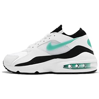 new product ffa82 b74d3 NIKE WMNS Air Max 93-307167100 - Color White-Black - Size  6.0