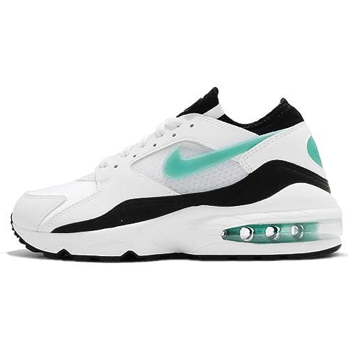 online store 65837 b6a86 Nike Wmns Air Max 93 White/Sport Turq-Black: Amazon.it: Scarpe e borse